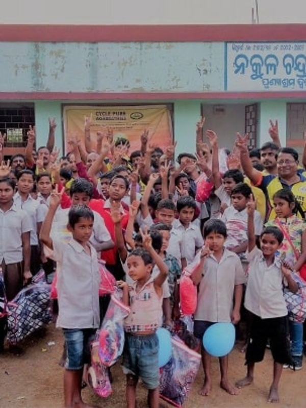 Special New Year Celebrations For This Odisha Orphanage