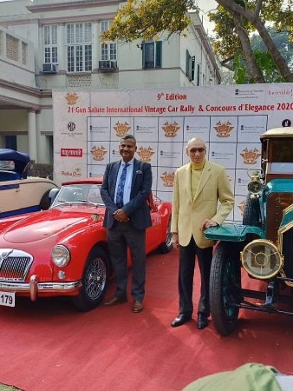 """There's A Degree Course For Restoration of Vintage Cars!"" 21 Gun Salute Rally 9th Edition Announced"