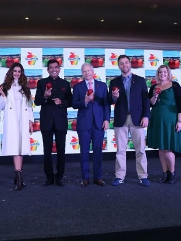 Washington Apples Announces Disha Patani, Sanjeev Kapoor As Ambassadors In India