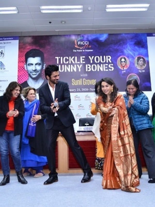 Video: Dancing With Sunil Grover!