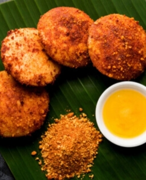Timeless Tastes: Spicy Orange Idli From My South-Indian Friend's Home