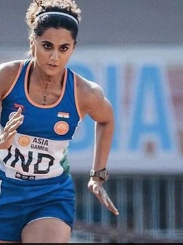 Podium Finish For Another Taapsee-Style Story, 'Rashmi Rocket' Unmissable