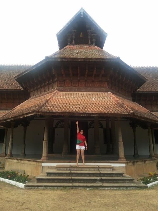 KeralaBlogExpress: Of Meeting Global Travellers & Visiting World's Richest Hindu Temple