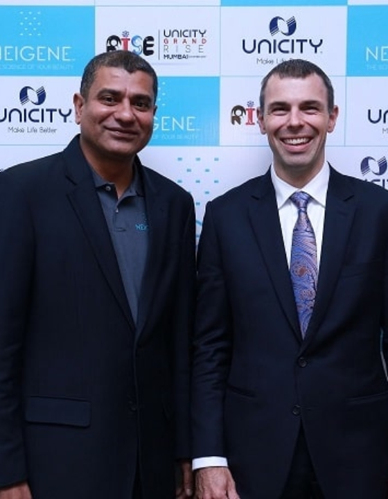 """""""Patanjali Ain't Competition"""" Unicity Launches New Personal Care Brand In India"""