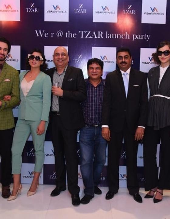 Men's Wear Brand TZAR Launched In New Delhi