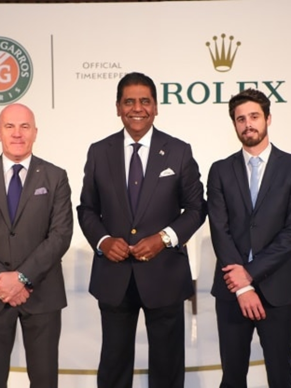 Rolex Celebrates Roland-Garros Association With A Classy Opening Party In India