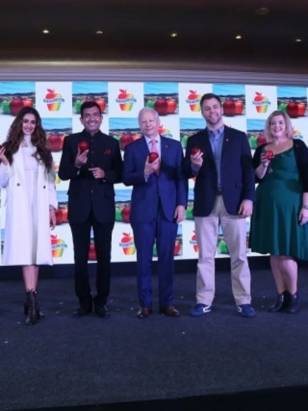 Washington Apples Announces Disha Patani, Sanjeev Kapoor As Ambassadors In India